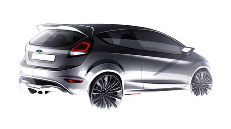 ford design in the ford fiesta st concept car body design