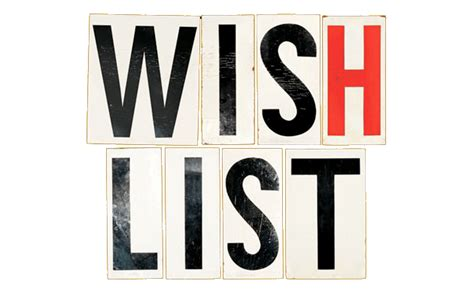 the wish list contribute to the wish list