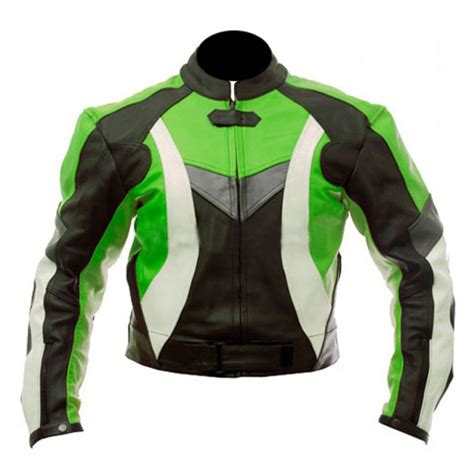green motorcycle jacket super motorcycle black green biker jacket leather
