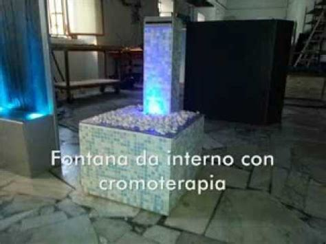 fontana da interni fontana da interno a lama d acqua con cromoterapia rgb