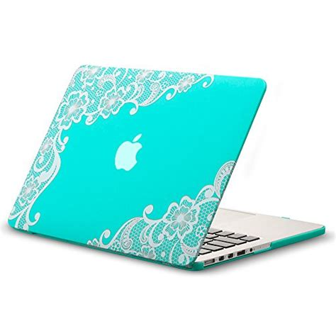 For Macbook Retina 133 Inch Blue kuzy rubberized for macbook pro 13 3 inch with retina display lace teal saheemnet