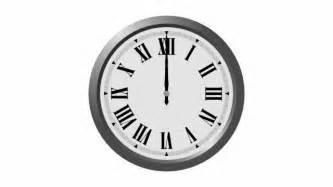 clock striking 12 sound effect