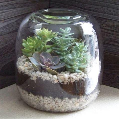Fabriquer Un Terrarium terrarium pour plantes tuto pour le faire et plus de 70