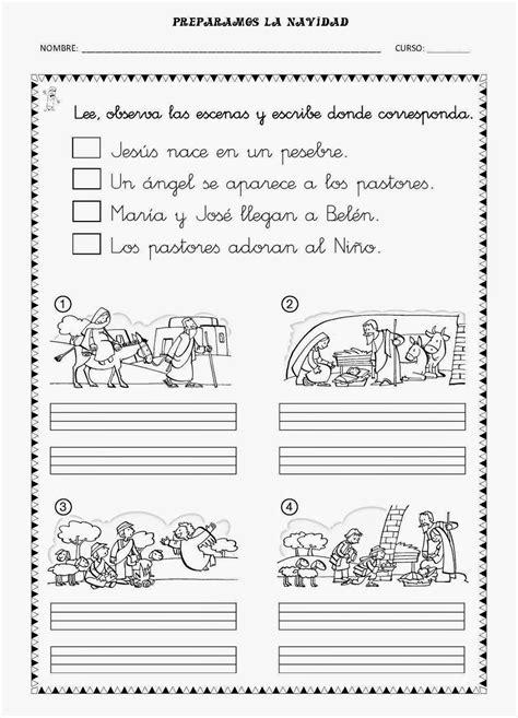 fichas de religion para primaria aprendemos en reli tema 4 preparamos la navidad