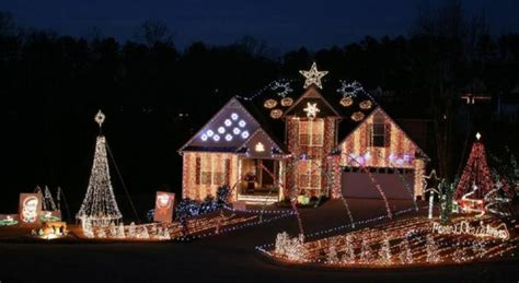 best christmas house displays in columbus ga the most magical lights road trip in