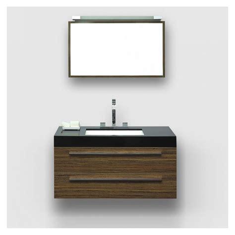 wall mounted bathroom units the mezzano milano stone zebrano black stone basin