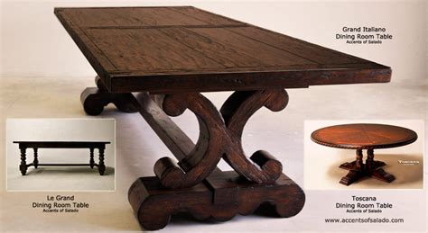tuscan dining room tables iron and wood kitchen tables types of wood