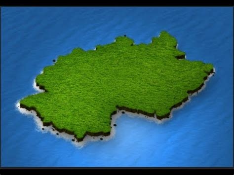 create 3d tutorial how to create 3d map in photoshop 3d map