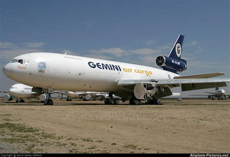 ngc gemini air cargo mcdonnell douglas dc   mojave photo id  airplane