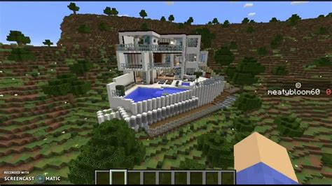 captainsparklez house in captainsparklez mansion in minecraft w