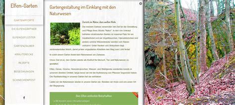 www garten webseite 252 ber elfen in unserem garten webseiten