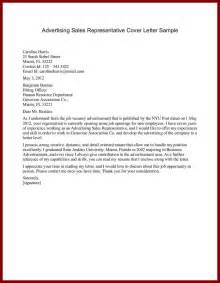 cover letter sales exles advertising sales executive cover letter