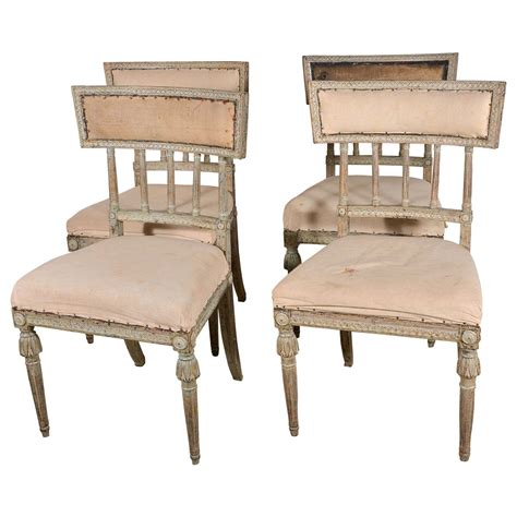 Swedish Chairs by Swedish Gustavian Dining Chairs At 1stdibs