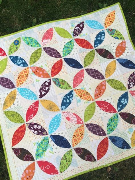 Scrappy Patchwork Quilts - orange peel quilt quilts and quilting