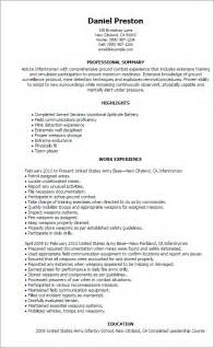 Infantry Resume Examples Professional Infantryman Templates To Showcase Your Talent