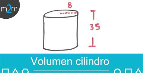 preguntas con kilogramos volumen de un cilindro youtube