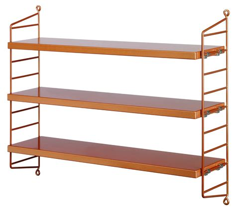 string pocket shelf copper by string furniture