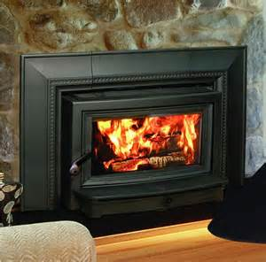 wood burning fireplace inserts firebox heat efficient