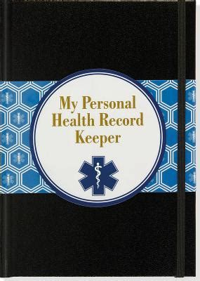 my personal health record books my personal health record keeper by pauper press