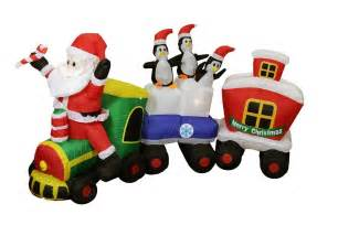 Christmas Inflatable Yard Decorations Christmas Inflatables Decorations Display Santa Claus