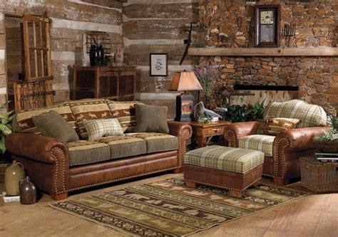 Log Cabin Living Room Ideas by 404 Not Found