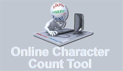 counting tool with count character using free tool