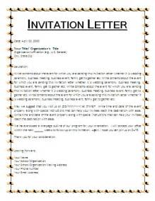 invitation sles free business templates