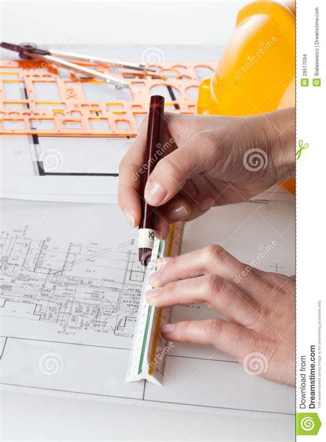 Architect Work Architect Work Stock Images Image 29517094
