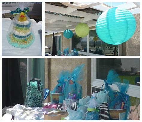 Boy Baby Shower Decoration Ideas by Zebra Blue Unique Baby Shower Theme For Boys Honey