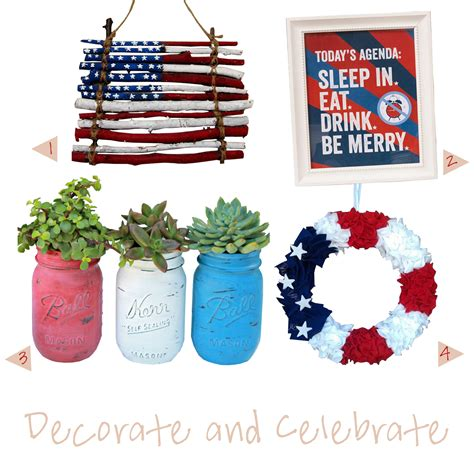 Labor Day Decorations by Friday Favorites Labor Day
