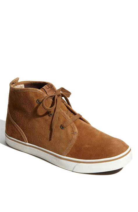 ugg brockman chukka boot in brown for chestnut