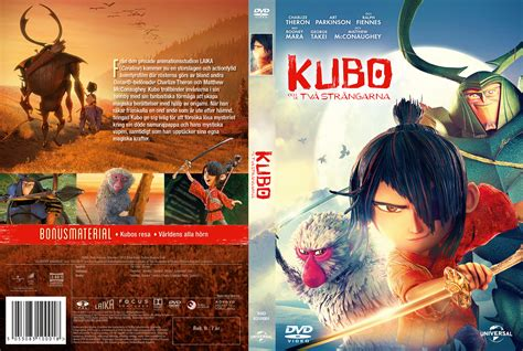 Two Cover kubo and the two strings dvd cover 2016 r2 custom swedish