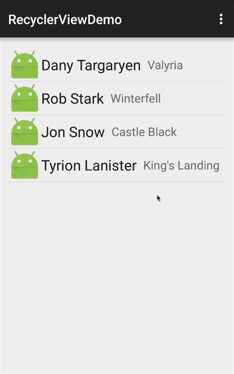 layout animation listener using the recyclerview 183 codepath android guides wiki 183 github