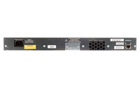 Cisco Catalyst 3550 24 Port C3550 24pwr Smi ws c3550 24pwr smi cisco switch catalyst 3550 series 24 port poe