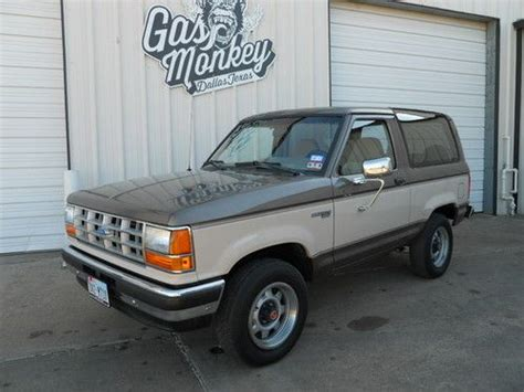 sell used 1989 ford bronco ii xlt sport utility 2 door 2 9l in dallas texas united states