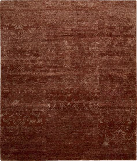 Silk Area Rug by Nourison Silk Shadows Sha03 Rus Rust Area Rug Rugs A Bound