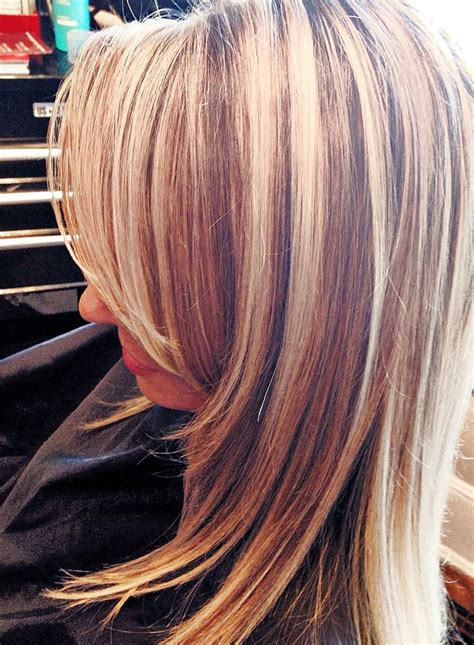highlow hair color and cut high and low light dimension haircassiewebb