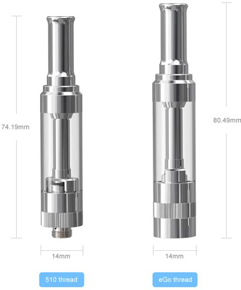 Eleaf Ismoka Gs14 Glass Atomizer 510 At Sw Egs14 atomizer gs14 eleaf ismoka ribilio