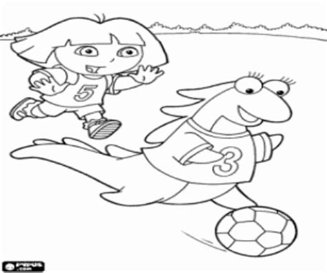 dora soccer coloring pages dora the explorer coloring pages printable games 2