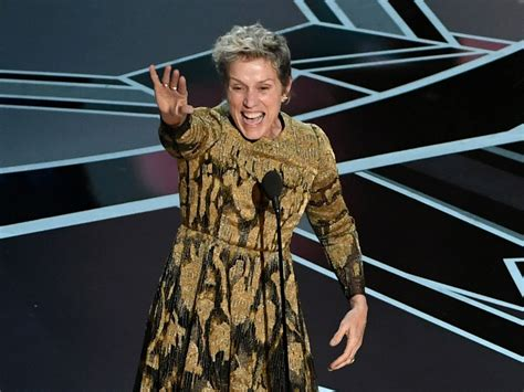 Come With Me Oscars Viewing by Frances Mcdormand Got All The Oscar Nominees On