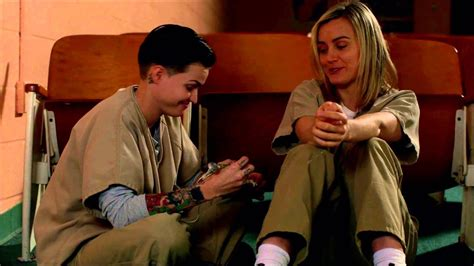 orange is the new black tattoo ruby gives piper a orange is the new black