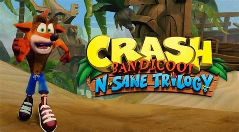 ps4 themes crash crash bandicoot n sane trilogy will contain 3 platinum