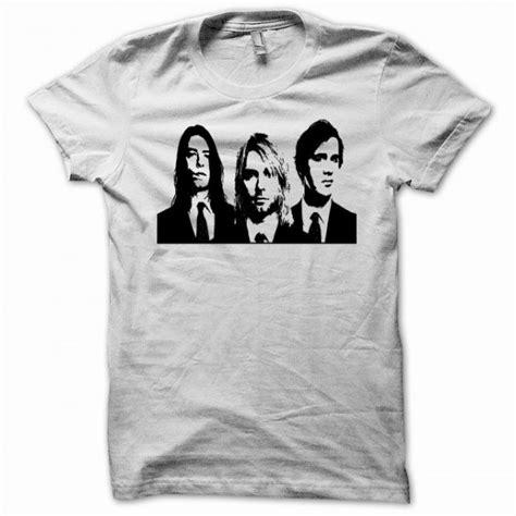 T Shirt Kurt Cobain Black t shirt nirvana kurt cobain black on white