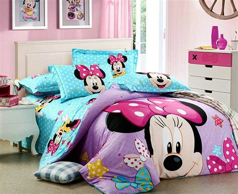 minnie mouse bedding full new home textile100 cotton fitted sheet design pink girls minnie mouse bedding sets