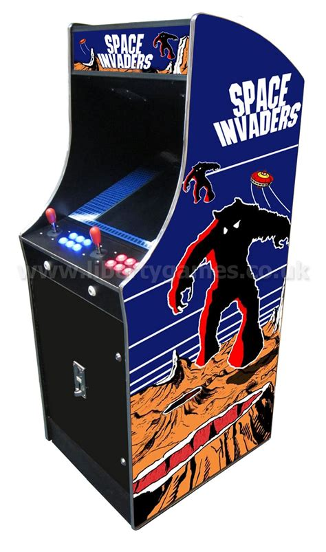 Space Invaders Cabinet by Frontier Customisable Arcade Machine Liberty