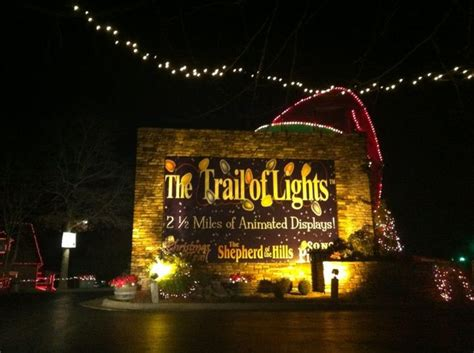 trail of lights branson trail of lights favorite spots in branson mo