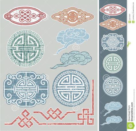 set of oriental design elements stock vector image 22896967 set of oriental design elements stock vector