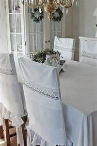 diy dining room chair covers vintage pillowcases used to make cover for chairs idea for diy dining room white grey black