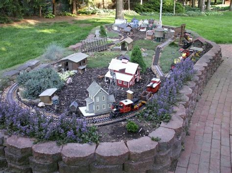 G Scale Garden Railway Layouts Garden Pinterest