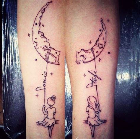 soul sister tattoos the moon and lettering soul